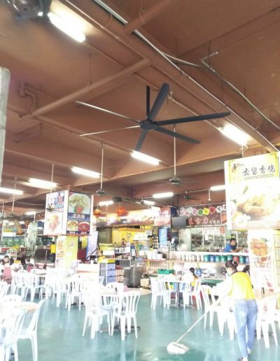 Seremban Siew Pao - HVLS Mistral Fan Installation